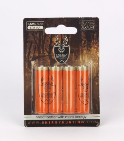 ENERGY HUNTING LR6 AA 4 PACK