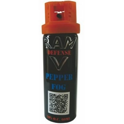 RAM SELF DEFENSE PEPPER SPRAY FOG 60ML