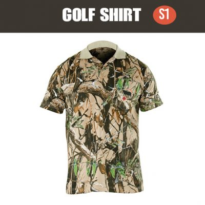 SNIPER 3D, MENS SHORT SLEEVE GOLF T-SHIRT