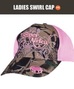 SNIPER LADIES SWIRL CAP
