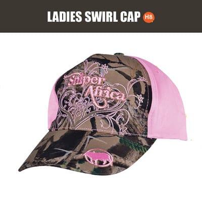 SNIPER 3D, LADIES SWIRL PEAK PINK CAP