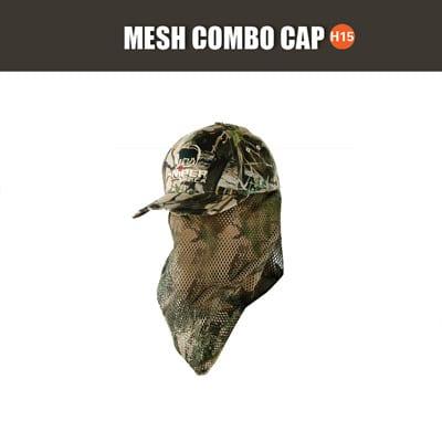 SNIPER 3D, MESH COMBO PEAK CAP