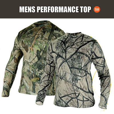 SNIPER 3D, MENS LONG SLEEVE PERFORMANCE TOP