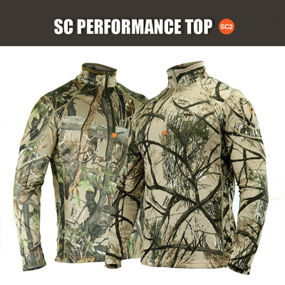 SNIPER 3D, MENS SCENT CONTROL LONG SLEEVE PERFORMANCE TOP