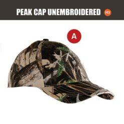 SNIPER UNEMB PEAK CAP