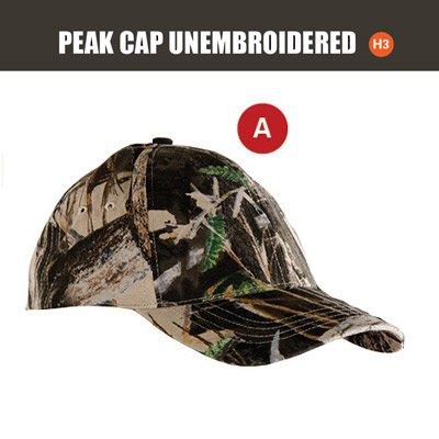 SNIPER 3D, UNEMBROIDED PEAK CAP