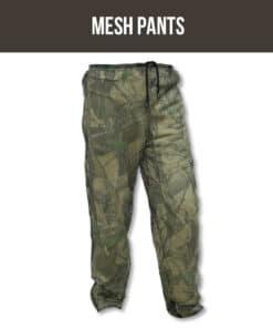 SNIPER ZIP MESH PANTS