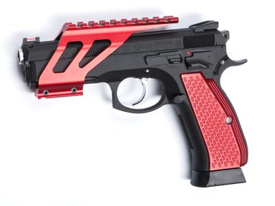 ASG GRIP SHELLS RED ALU, FOR CZ SP-01 SHADOW