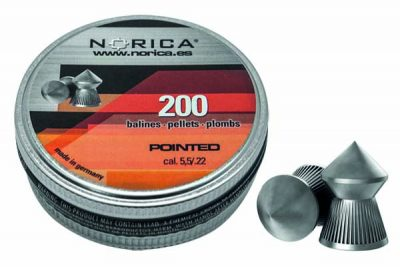 NORICA POINTED PELLETS 5.5MM 200 COUNT