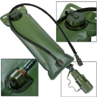 3l military hydration bladder pack green 3275245