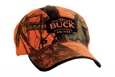BUCK CAP MOSSY OAK BLAZE ORANGE