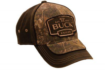 BUCK CAP CAMO/SUEDE BROWN