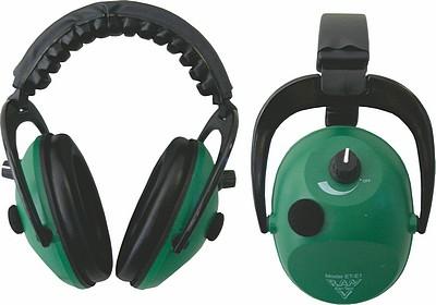 RAM EAR-TECT ET-E1 ELECTRONIC EAR MUFFS GREEN