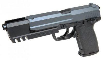 UHC UG162B GAS PISTOL BLACK 6MM