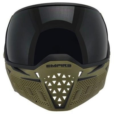EMPIRE EVS GOGGLE OLIVE/BLACK - THERMAL CLEAR