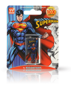 Pack SuperMan 9V