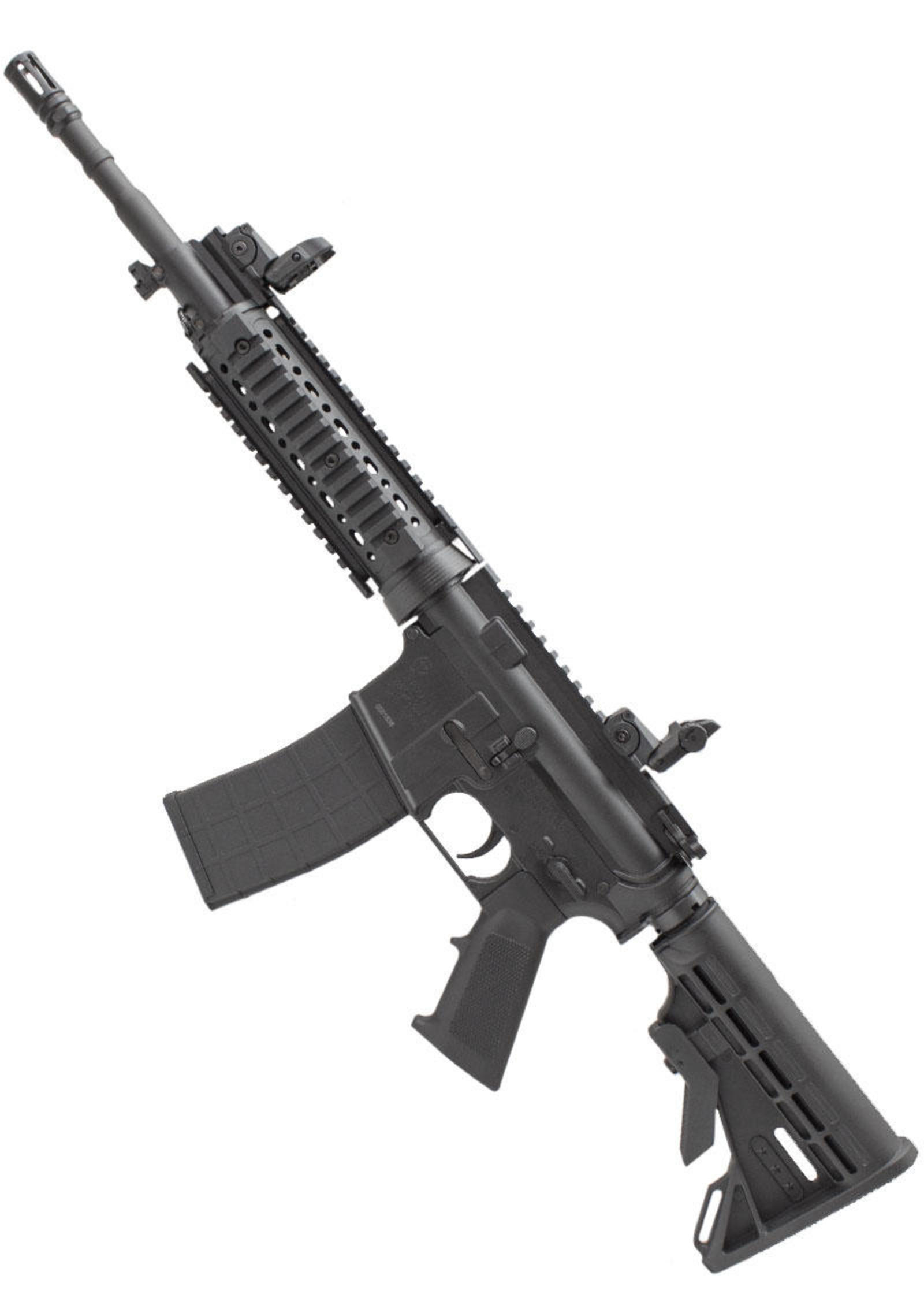 tippmann m4 carbine airsoft rifle 6mm black