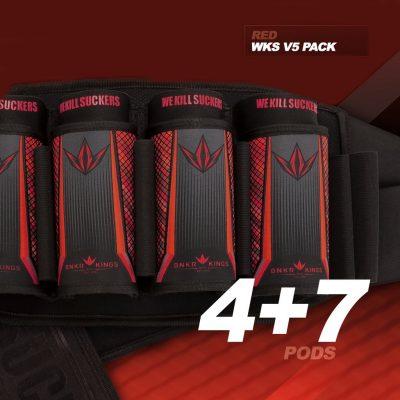 BK STRAPLESS PACK V5 - WKS 4+7 - RED-01