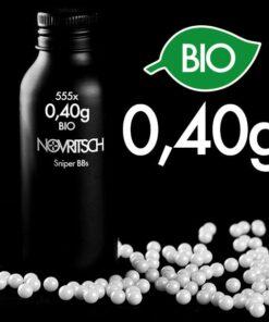 Novritsch 0.40g x 555pcs Sniper BIO BBs