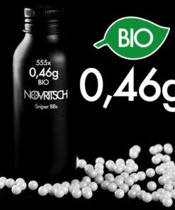 Novritsch 0.46g x 555pcs Sniper BIO BBs
