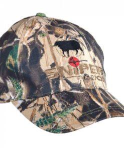 3-D Buffalo EMB peak cap