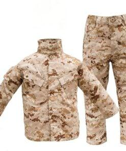 desert camo uniform combo