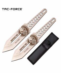 tac force tac force throwing knife set of 2 tf tk0